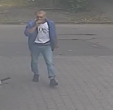 Zdjęcie sprawcy kradzieży - fot. KPP Zgierz